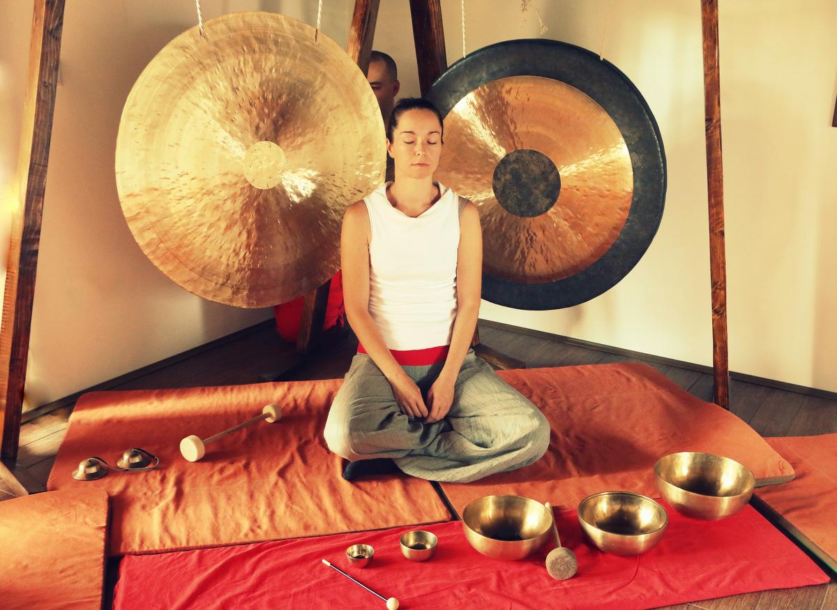 Gong meditacija SoulCraft Creations centra
