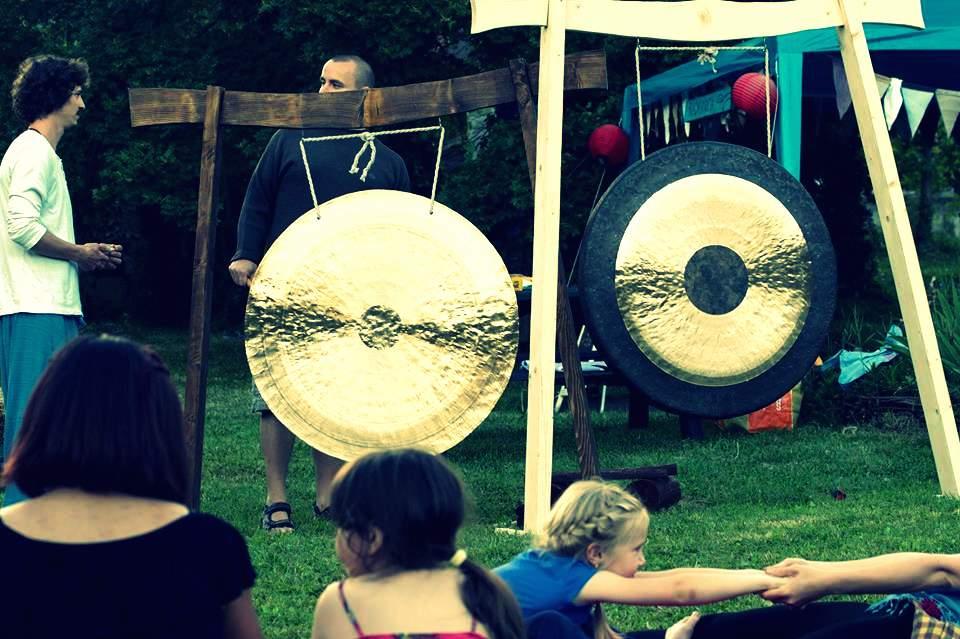 Gong radionica na otvorenom Okić
