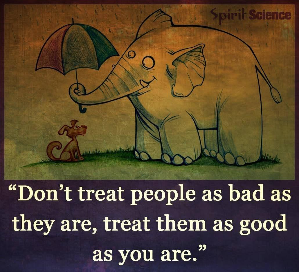 Tretirajte ljude kako bi i sebe