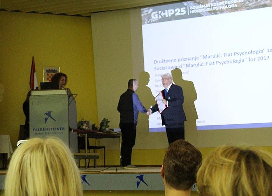 nagrada psihologa Marulić